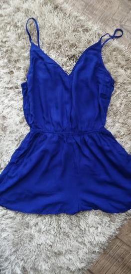 H&M plavi kombinezon