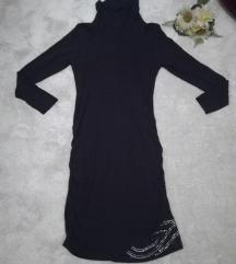 ♫ ♪ ♫ JONES crna roll haljina sa sekvinima  36/38