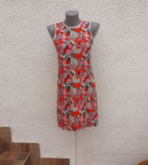 Šarena pamučna haljina XS/S