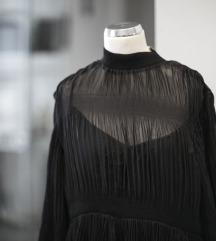 HM crna leprsava haljina, vel. S