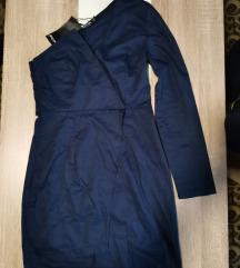 Tamno plava haljina nova
