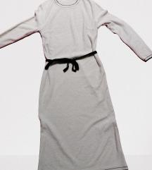 RETRO haljina pesak/drap boje vel.M