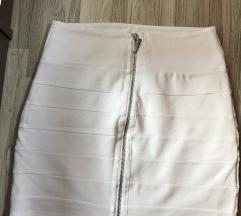 Bela suknjica sa dva lica