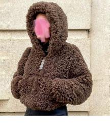 Pull&Bear teddy krznena jaknica