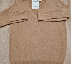 Basic pleteni džemper