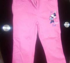 Minnie mouse Disney pantalonice 2-3 god