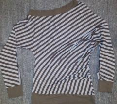 Bluza - tunika sa spuštenim ramenom