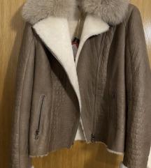 Nova kožna jakna sa krznom
