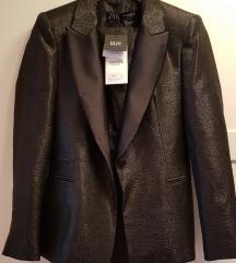 Novo Zara odelo crni zakard tuxedo 9500