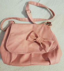 NOVA roze torba - Unikat