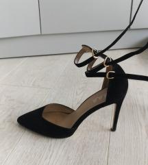 Crne cipele sa kaisicima