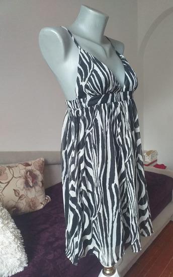 H&M Zebrasta haljina 40