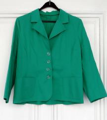 Zeleni sako ,XL,novo