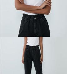 Snizenje Zara paper jeans