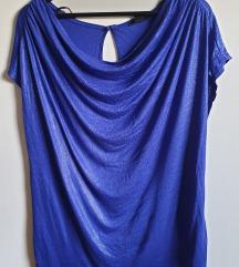 H&M komotna svetlucava majica