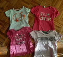 Set majica za devojcice