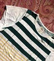 Zara majica na štrafte M
