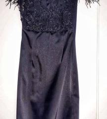 Crna sexy haljina