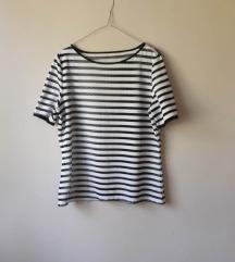 Crno bela majica sa mrežom