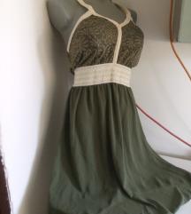 Nova Moda italia zelena haljina S