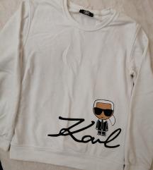 Karl Lagerfeld white hoodie