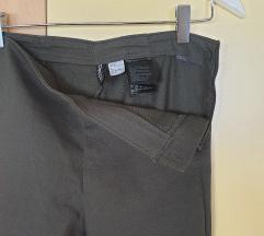H&m pantalone maslinasto zelene NOVE