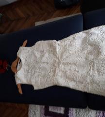 ZARA cipkana haljina S