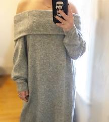 H&M Knit Haljina Off Shoulder