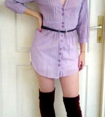 TALLY WAIJL Striped kosulja haljina SNIZENO