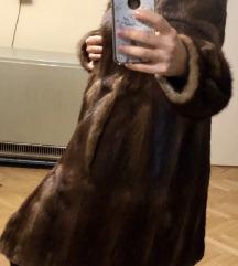 vintage bunda od vizona - pravo krzno