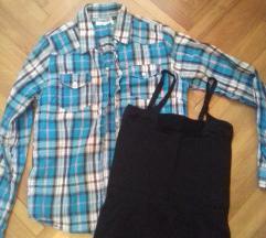 Košulja i mini haljinica