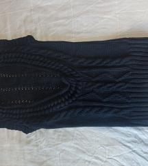Ženski teget džemper