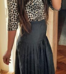 👑 plisirana suknja visoki struk 😻
