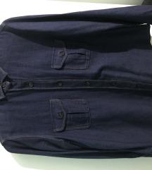 Košulja teksas Massimo Dutti