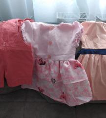 Haljinice i pantalonice na tregere