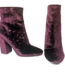 Original Jessica Simpson Purple Velvet čizme USA