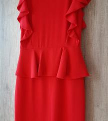 Crvena haljina sa karnerima