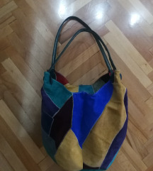 Sarena kozna torba