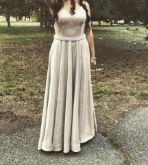 BUTIK 13 zlatna duga haljina AKCIJA