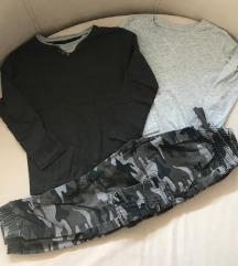 2x Majica i pantalone