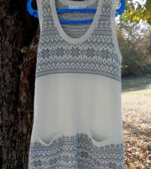Dzemper tunika haljina