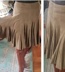 RALPH LAUREN original KOŽNA suknja