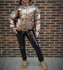H&M zlatna jakna