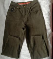 Original Trusardi Mom jeans maslinaste farmerke