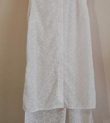 Bela dugačka košulja P.S.Fashion, S veličina