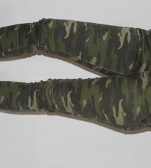 SNIZENO Maskirne pantalone