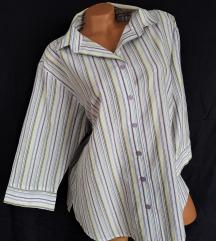 GINA LAURA ★ komotna, praktična prugasta košulja