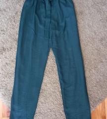 Pantalone petrolej zel. prijatne vel M