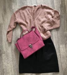 Pink vintage torba