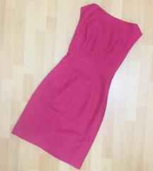 Pink zimska haljina